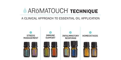 AromaTouch Technique - A Clinical Approach to Essential Oil Application tickets