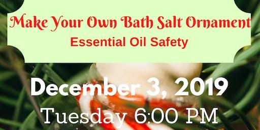 Make Your Own Bath Salts Ornament