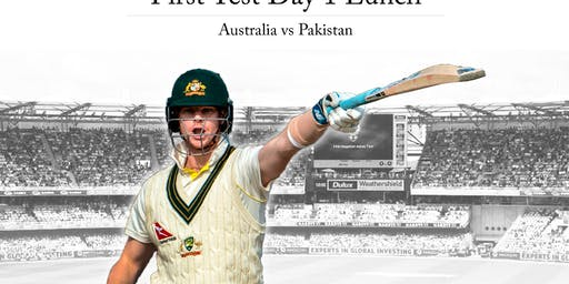 Australia Vs Pakistan First Test Day 1 Lunch