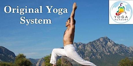 Original Yoga System Lunes boletos