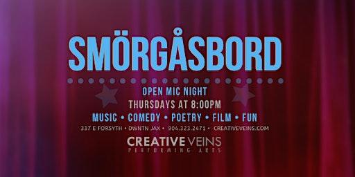 All Arts Open Mic Night in Jacksonville! (Thursdays @ 8pm)