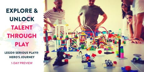 LEGO® SERIOUS PLAY® HERO'S JOURNEY - For talent development and personal transformation (1-DAY PREVIEW) tickets
