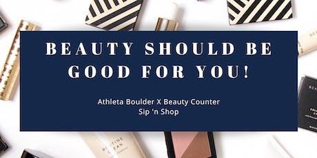 Athleta Boulder X Beauty Counter tickets