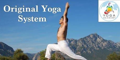 Original Yoga System Jueves boletos
