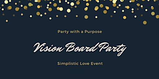 Simplistic Love Vision Board Party