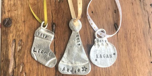 DIY Personalized Ornament Workshop at 605 MADE Holiday Market