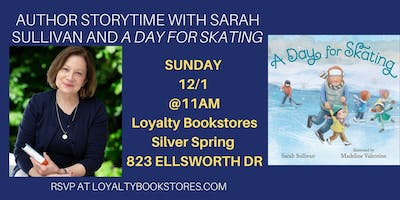 Author Storytime with Sarah Sullivan for A Day For Skating