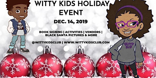 Witty Kids Holiday Event & Book Signing