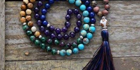 Mala bead necklace workshop  tickets