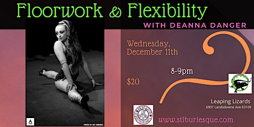 Floorwork & Flexibility with Deanna Danger