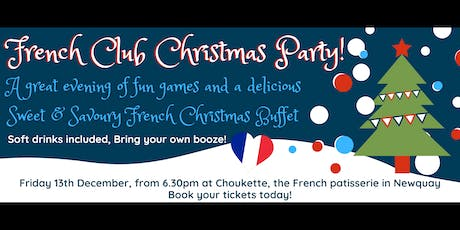 French Club Christmas Party tickets