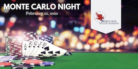 Monte Carlo Night - Warrior Retreat at Bull Run tickets