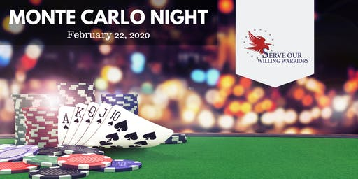 Monte Carlo Night - Warrior Retreat at Bull Run
