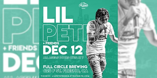 Lil Pete at Full Circle Brewing Co.