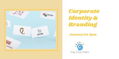 Corporate Identity & Branding tickets