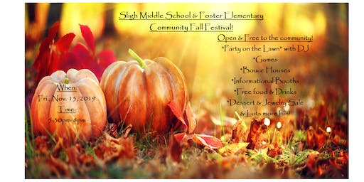 Fall Festival at Sligh Middle School