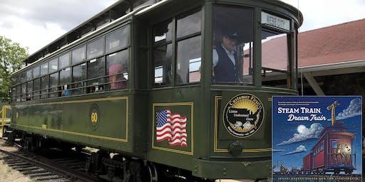 Clickety Clack - We're Reading Down the Track - Steam Train, Dream Train