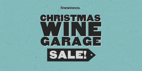 finewineco. Wine Garage Sale tickets
