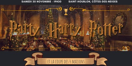 Party Harry Potter billets