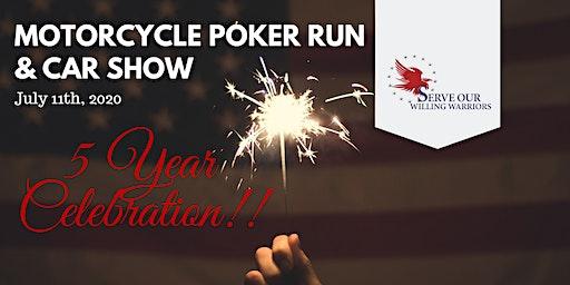 Motorcycle Poker Run & Car Show - Celebrating 5 YEARS!!