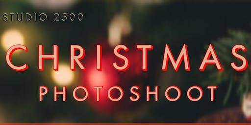 Studio 2500 Christmas Photoshoot