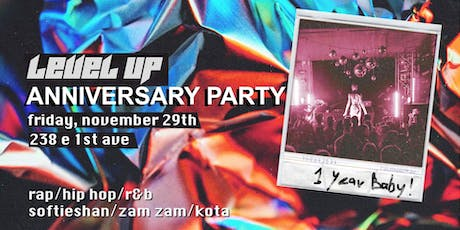 LEVEL UP Queer Hip Hop & Rap Dance Party - 1 Year Anniversary! tickets