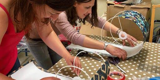 Make a drum lampshade workshop
