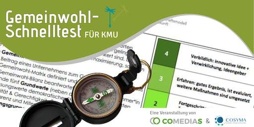 Workshop: Gemeinwohl-Schnelltest für KMU