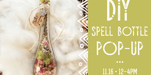 DIY Spell Bottle POP-UP