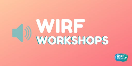 WIRF workshop with Hilary Hutcheson