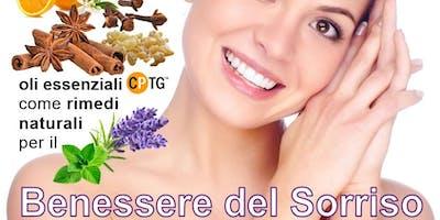GENOVA  Oli essenziali CPTG  - rimedi naturali per il Benessere del Sorriso