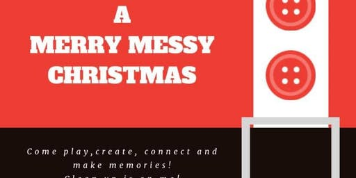 A Merry Messy Christmas (18 month to 8 year olds)