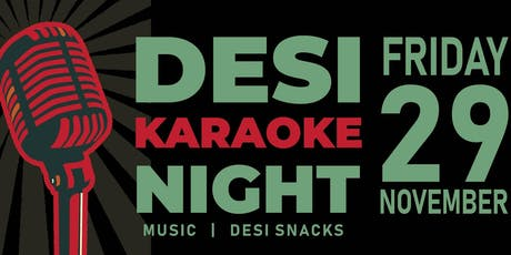 Desi Karaoke Night! tickets