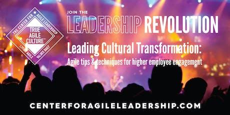 Leading Cultural Transformation, December 3, Nashville tickets