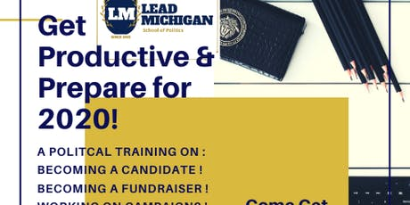 Political Training: Become a Candidate/ Fundraiser tickets