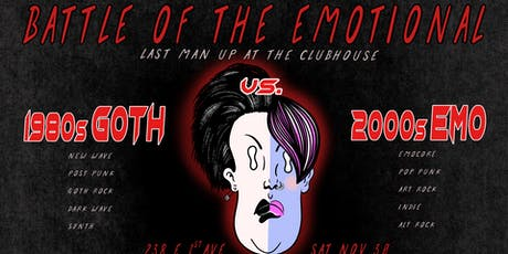 Man Up Battle of the Emotional: 80s GOTH vs. 00s EMO! tickets