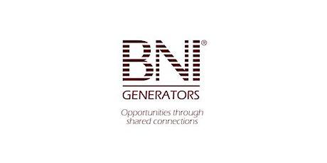 Copy of BNI Generators tickets