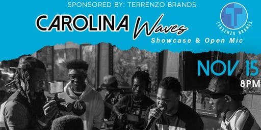 Carolina Waves Showcase & Open Mic - Greensboro