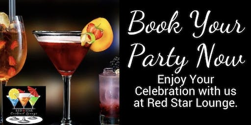 Book Your party or event at Red Star Lounge