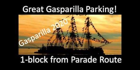 Great Gasparilla Parade Parking! tickets