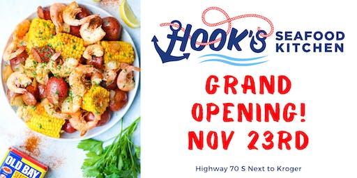 Hook's Seafood Kitchen Bellevue Grand Opening Weekend
