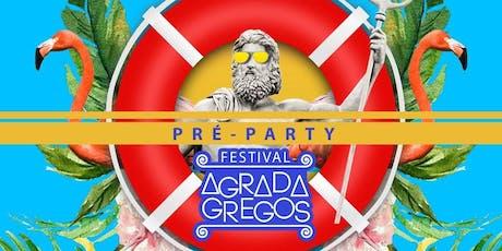 Agrada Gregos - carnaval na beira da piscina! ingressos