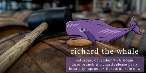 Richard the Whale 2019 Release Party & Bottle Pick-Up