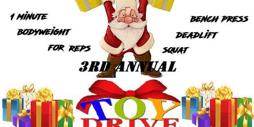 3rd Annual Liftmas Lift-a-thon Toy Drive