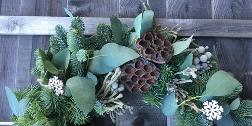 Plastic-free Wreath-making workshop