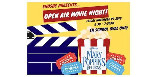 EHOSHC Open Air Movie Night