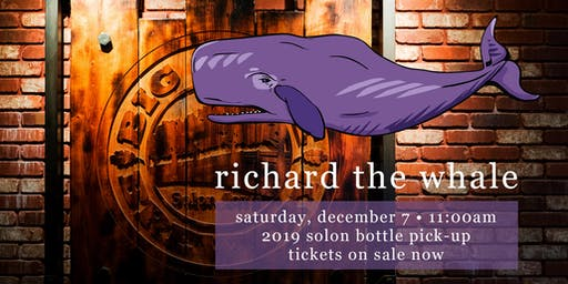 Richard the Whale | Solon Bottle Pick-Up