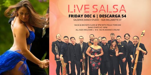 Live Salsa with Orquesta Descarga 54