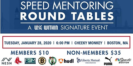 WISE Speed Mentoring Round Tables tickets
