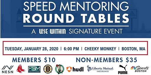 WISE Speed Mentoring Round Tables